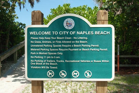 Naples Beaches From Gordon P On The South To Seagate Drive North Facilities Over 10 Miles Of Sandy Beach Fishing Pier Is At West End